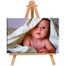 4x6 Mini Photo Canvas With Easel