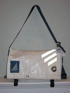 Second Wind Sails: Second wind sails makes totes, messenger bags, and shower curtains from used boat sails.