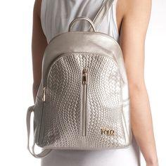 ❇️ BIG sparkle, small budget! BFG POLO STYLE backpack ON SALE !! Bfg, Backpacks For Sale, Leather Backpack, Fashion Backpack, Sparkle, Budget, Polo, Silver, Women