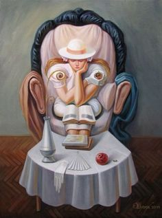 Just an illusion...by Oleg Shuplyak