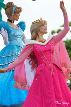 Princess Cinderella,  Princess Aurora  Disneyland Paris