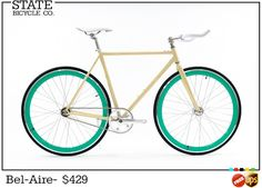 Custom Fixed Gear Bikes | Fixie Bikes | State Bicycle Co.