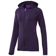 Womens adidas Longevity Jacket Dark Violet Ultra Purple W66359