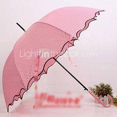 dot guarda-chuva borda ruffle