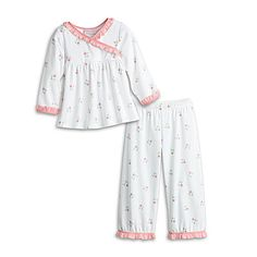 American Girl® Bitty Baby Clothing: Cuddly Star Pajamas for Girls - Holly