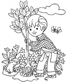 14 best He's got the whole world Boy Coloring, Coloring Sheets For Kids, Coloring Books, Craft Activities For Kids, Crafts For Kids, Daycare Themes, Tree Day, Human Drawing, Arbour Day