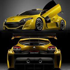Renault Megan Trophy Cup Racecar
