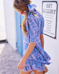 New Arrivals and it feels sooo good 💖💙💖💙 Summer Lookbook, Feminine Style, Dress Collection, Fabric Design, Dresses Online, Ready To Wear, Summer Dresses, Women's Dresses, Short Sleeve Dresses