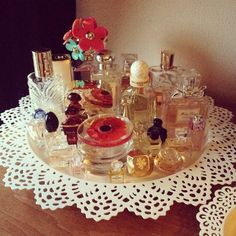 Parfum storage idea