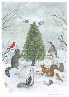 Christmas Animals by Johanna Westerman