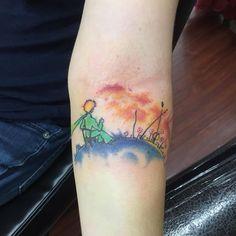 #tattoo #watercolortattoo #littleprince #littleprincetattoo