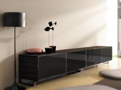 Beautiful Aluminum Edge Banding in a modern living room.