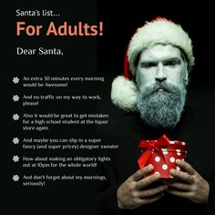 We hope you have behaved well. What's your wish to Santa this Christmas Eve?