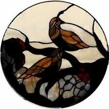 stained glass quails - Google Search
