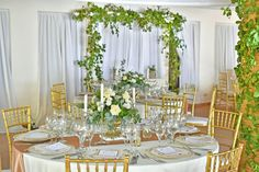 Guest table decor made it to perfection in Kukua Punta Cana, fresh flowers and greenery ♥ design by Begokua, photo by Milan Photo Cine Art