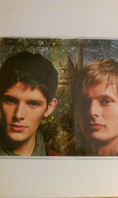 Checkbook Cover - Merlin and Arthur. $5.00, via Etsy.