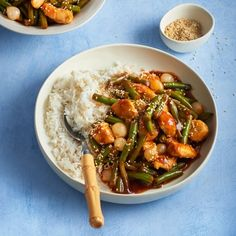 Het recept van de dag is: Kipfilet met sperziebonen in ketjapsaus!
