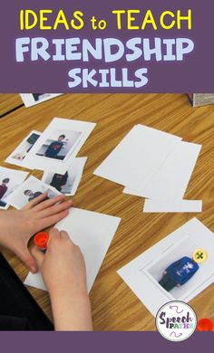 Help students build friendship skills by remembering important information about others with this fun activity! Build social skills in elementary students by making friendship files.  Easily incorporated into Social Thinking curriculum.  Free worksheet downloads included so you can implement today! #socialskills #friendshipactivities
