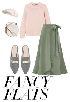 """""""looovee that flats"""" by ciciliadewintastanim on Polyvore featuring Alexander McQueen and chicflats"""