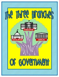 The 3 Branches of Government Introduction Activity - FREE