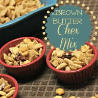 Brown Butter Chex Mix- a delicious treat for your salty cravings!