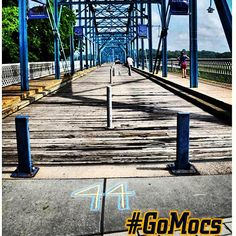 7/16/13 - 44 days until kickoff!! Chattanooga is such a beautiful city to see sights like this AND Mocs football! How lucky are we? #GoMocs
