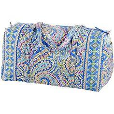 Vera Bradley Capri Blue (retired print). I love my set of this print: lg & sm duffle bags and several make up bags