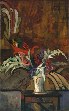 Roger Fry - Still Life: Flowers (c.1912)