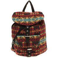 Aztec/tribal backpack