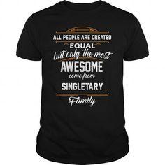 Cool SINGLETARY Name tee Shirts T shirts