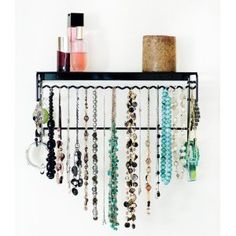 """Bought one of these for my fiance for her birthday. Was easy to install on her wall. She beams about it and seems to love organizing, and reorganizing her jewelry. Plus, I think we're actually less late for outings now that she can find the right """"set"""" faster. She thinks I'm a genius. Awesome buy!"""
