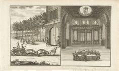 RIjksmuseum Spotprent op de pogingen van prins Willem IV om stadhouder te worden, 1735, anoniem, 1735