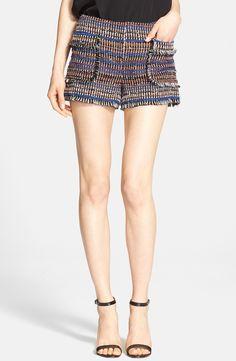 Rachel Zoe 'Finch' Tweed Shorts