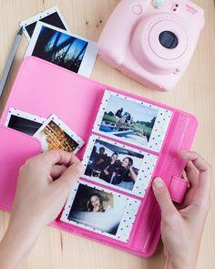 Instax Mini Album for 108 Instax Mini Photos. For Fujifilm Instax. Polaroid Camera Instax, Instax Photo Album, Instax Mini Album, Instax Mini Film, Fujifilm Instax Mini, Polaroid Pictures, Polaroids, Vintage Polaroid, Mini Albums
