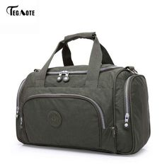 4aef77df3cce TEGAOTE Men s Travel Bag Zipper Luggage Travel Duffle Bag Latest Style  Large Capacity Male Female Portable Travel Tote