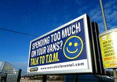 Billboard Smiley Face