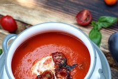 Fruchtige Tomatencremesuppe – Gaumenschmaus