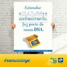 Esta data é uma homenagem ao jornalista, diplomata, presidente da Academia Brasileira de Letras, Rui Barbosa. Os Correios têm orgulho de ser um grande apoiador do conhecimento e da cultura no País.