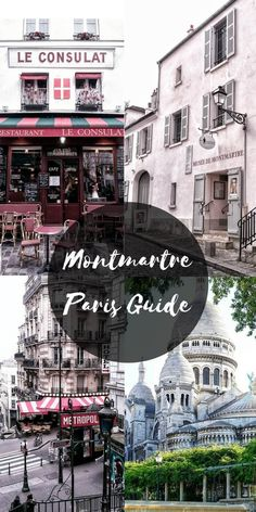 Alleys, eateries and vintage stores: walking around Montmartre, Paris is like stepping back in time. Here's a guide to the best things to do in Montmartre. Montmartre Paris, Paris 3, Paris In October, Paris Travel Tips, Europe Travel Tips, European Travel, Places To Travel, Travel Destinations, Asia Travel