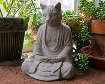 Meditating Zen Frog Garden Statue | Cast stone, Garden statues and Frogs