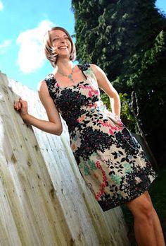 Patrón gratis: vestido Danielle de Burda (otra nueva versión) - yo elijo Coser