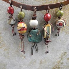 Beaded family-way cute!