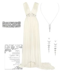 """""""Keep it Wedding Chic"""" by ortavia-dixon on Polyvore featuring Needle & Thread and Stella & Dot"""