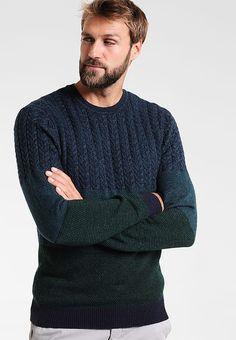 Kleding Pier One Trui - teal Petrol mêleerd : € 39,95 Bij Zalando (op 23-9-17). Gratis bezorging & retour, snelle levering en veilig betalen! Stylish Mens Outfits, Stylish Clothes, Men Sweater, Pullover, Sweaters, Fashion, Moda, Fashion Styles, Men's Knits