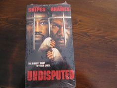 New Wesley Snipes (Undisputed) Vhs.
