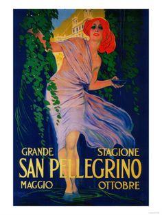 San Pellegrino Poster
