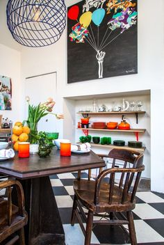 House Tour: A Bold & Colorful Los Angeles Loft | Apartment Therapy