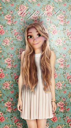 IRL Disney characters, Rapunzel