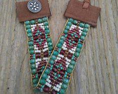 Bead Loom bracelet, bead woven bracelet, boho bead Loom bracelet, Southwest bracelet, Native American inspired bracelet, bohemian bracelet,