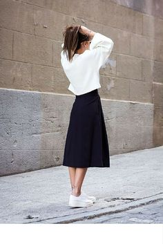preto e branco,oversized,saia e casaco,look tumblr
